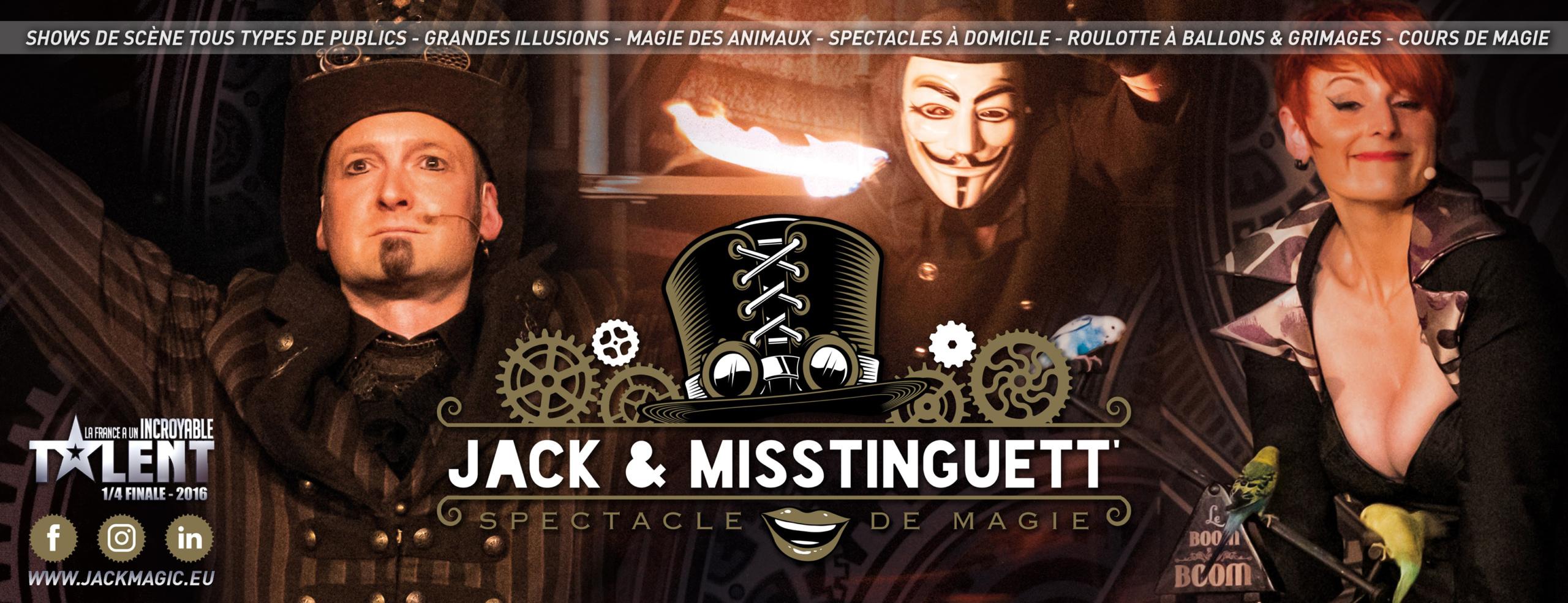 Jack & Misstinguett' – MAGICIENS
